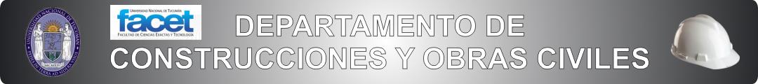 Dpto. de Construcciones y Obras Civiles Logo