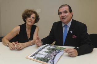 Agrim. Maria Eugenia Marquetti e Ing. Carlos Rodríguez