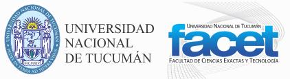 Facultad de Ciencias Exactas y Tecnología logo